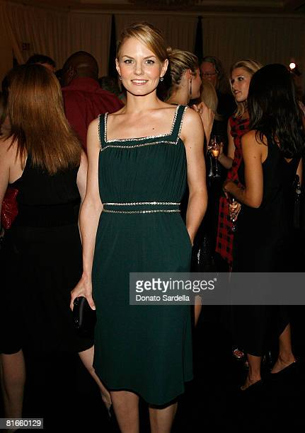 BEVERLY HILLS CA OCTOBER 15 Actress Jennifer Morrison inside ELLE Magazine's 14th Annual Women In Hollywood at the four seasons hotel on October 15...