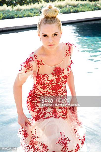 Actress Jennifer Morrison is photographed for Prestige Magazine on February 22 2014 in Los Angeles California Styling Erin McSherry Makeup Coleen...