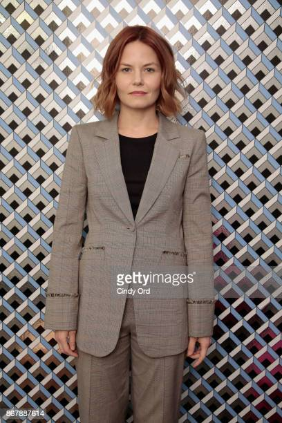 Actress Jennifer Morrison poses backstage at 'Sun Dogs' QA during the 20th Anniversary SCAD Savannah Film Festival on October 29 2017 in Savannah...