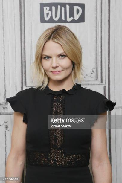 """Actress Jennifer Morrison visits BUILD to discuss the film, """"Sun Dogs"""" at Build Studio on April 17, 2018 in New York City."""