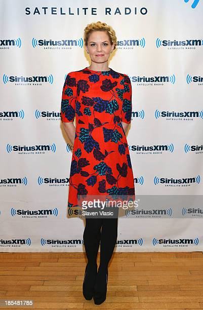 Actress Jennifer Morrison visits SiriusXM Studios on October 21 2013 in New York City