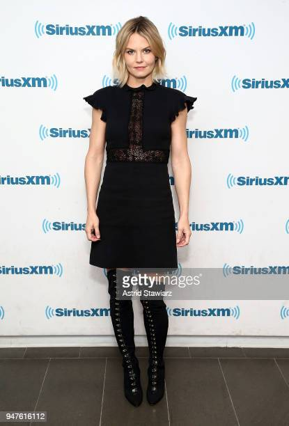 Actress Jennifer Morrison visits the SiriusXM studios on April 17 2018 in New York City