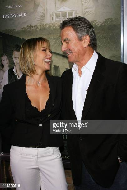 Actress Jennifer O'Dell and producer/actor Eric Braeden arrive at the Los Angeles Premiere of The Man Who Came Back held at the Aero Theater on...