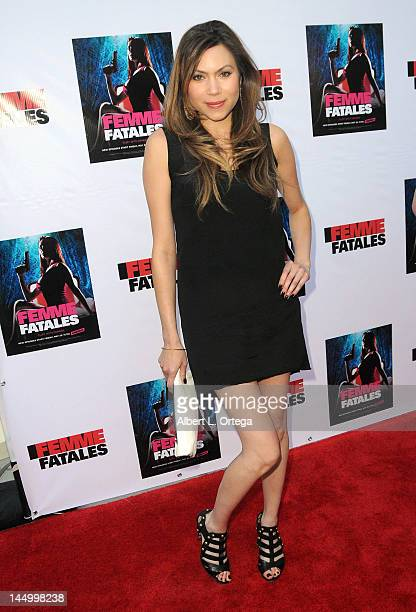 Actress Jennifer Roa arrives for the Screening For Cinemax's Femme Fatales 2nd Season held at ArcLight Hollywood on May 21 2012 in Hollywood...