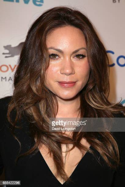 Actress Jennifer Roa attends the Let The Animals Live Gala at the Olympic Collection Banquet Conference Center on March 19 2017 in Los Angeles...
