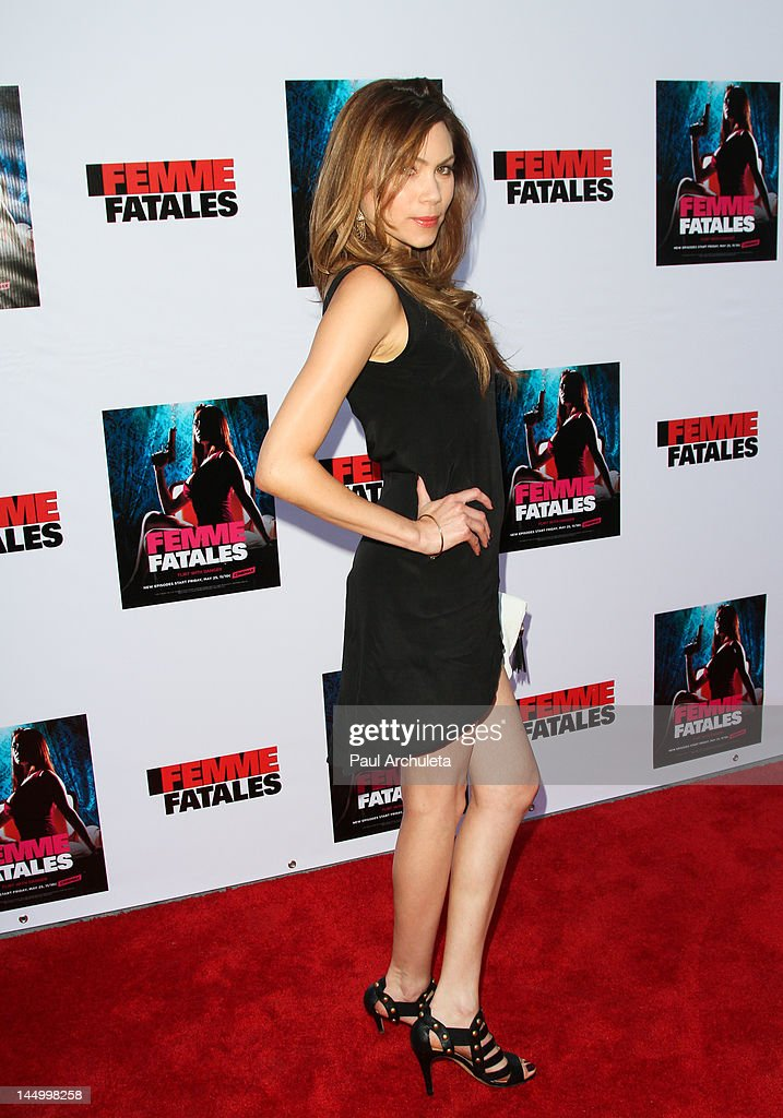 "Cinemax's New Series ""Femme Fatales"" - Cast & Crew Screening : News Photo"