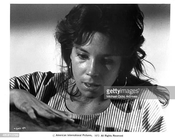 Actress Jennifer Salt in a scene from the movie Sisters circa 1973