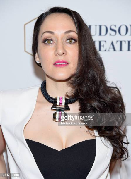 Actress Jennifer Sanchez attends 'Sunday In The Park With George' Broadway opening night after party at New York Public Library on February 23 2017...