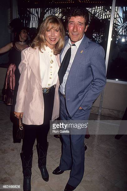 Actress Jennifer Savidge and actor Robert Fuller attend the 11th Annual Golden Boot Awards on August 21 1993 at the Century Plaza Hotel in Century...
