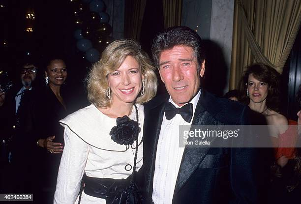 Actress Jennifer Savidge and actor Robert Fuller attend the Third Annual Joan Rivers Celebrity Tennis/Auction Classic to Benefit the Cystic Fibrosis...