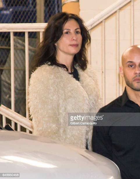 Actress Jennifer Sklias-Gahan is seen leaving 'TimesTalks Presents Depeche Mode' at Jack H. Skirball Center for the Performing Arts on March 8, 2017...