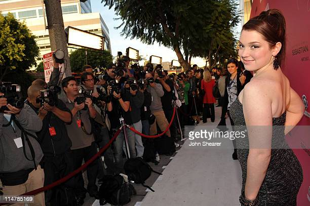 Actress Jennifer Stone arrives at Hollywood Life's 6th Annual Hollywood Style Awards held at the Armand Hammer Museum on October 11 2009 in Los...