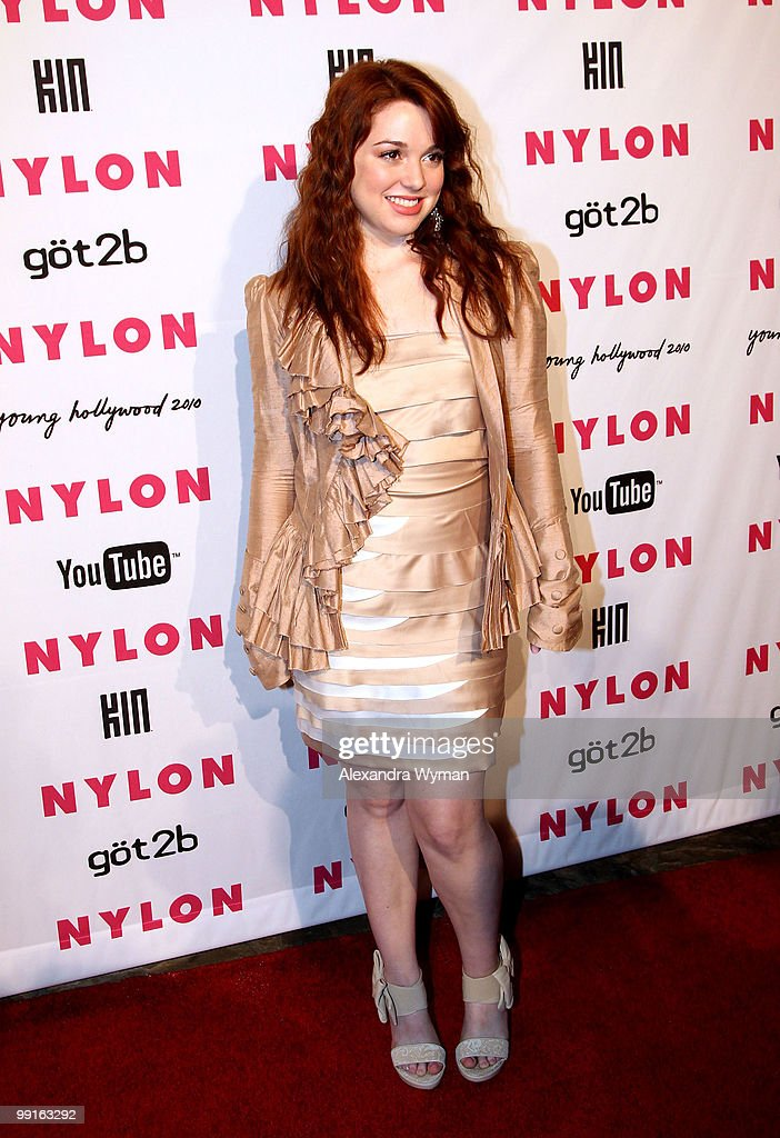 Actress Jennifer Stone arrives at NYLON'S May Young Hollywood Event at Roosevelt Hotel on May 12, 2010 in Hollywood, California.