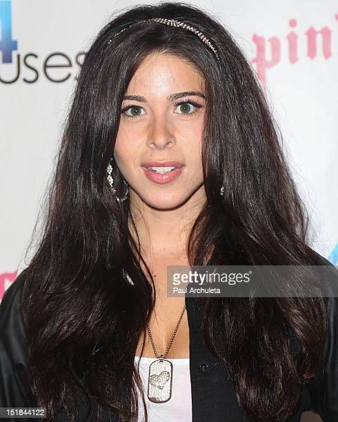 Actress Jennifer Tapiero attends the Cops4Causes' inaugural Heroes Helping Heroes at Pink Taco on September 11 2012 in Los Angeles California