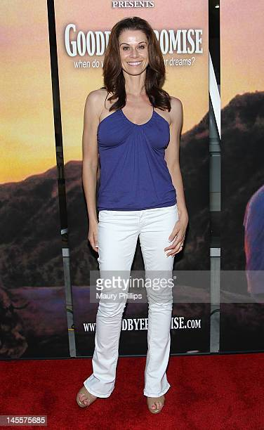 Actress Jennifer Taylor arrives at Goodbye Promise Los Angeles Premiere at The Downtown Independent on June 1 2012 in Los Angeles California