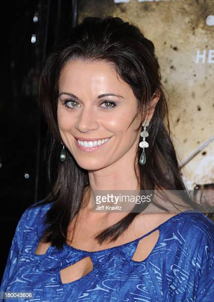 Actress Jennifer Taylor arrives at HBO's premiere of The Pacific held at Grauman's Chinese Theatre on February 24 2010 in Hollywood California