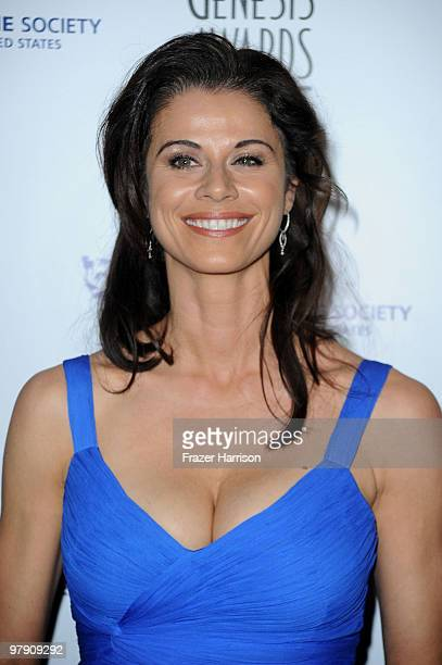 Actress Jennifer Taylor arrives at the 24th Genesis Awards held at the Beverly Hilton Hotel on March 20 2010 in Beverly Hills California