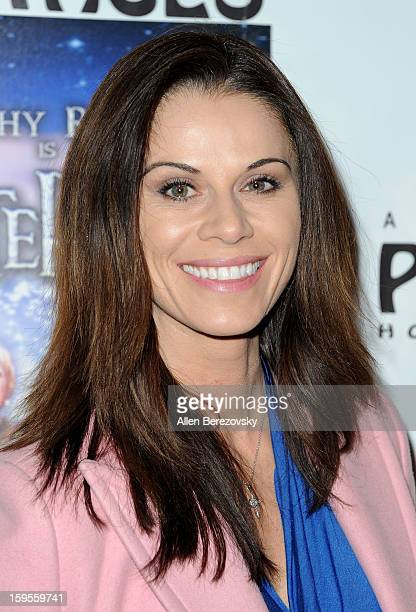 Actress Jennifer Taylor arrives at the Los Angeles opening night performance of Peter Pan at the Pantages Theatre on January 15 2013 in Hollywood...