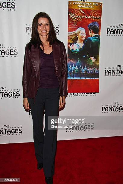 Actress Jennifer Taylor arrives at the opening night of Riverdance at the Pantages Theatre on November 15 2011 in Hollywood California