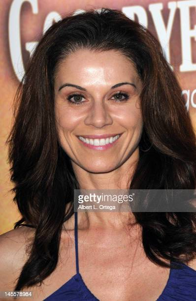 Actress Jennifer Taylor arrives for Goodbye Promise Los Angeles Premiere held at The Downtown Independent on June 1 2012 in Los Angeles California