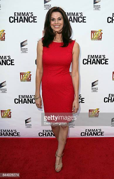 Actress Jennifer Taylor attends a screening of Sony Pictures Home Entertainment's Emma's Chance at ArcLight Hollywood on June 30 2016 in Hollywood...