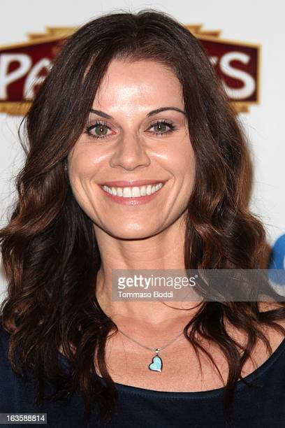 Actress Jennifer Taylor attends the Catch Me If You Can Los Angeles opening night held at the Pantages Theatre on March 12 2013 in Hollywood...