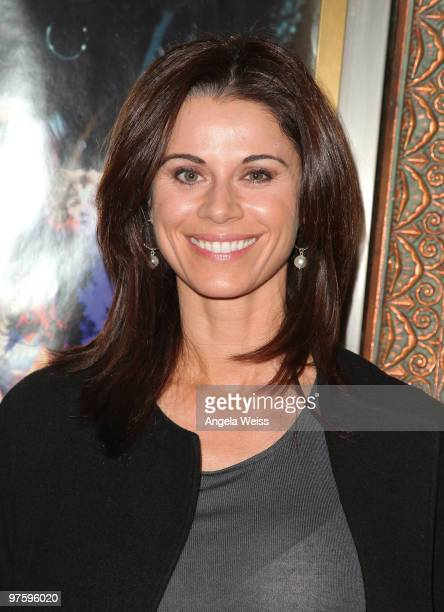 Actress Jennifer Taylor attends the opening night of 'CATS' at the Pantages Theatre on March 9 2010 in Hollywood California