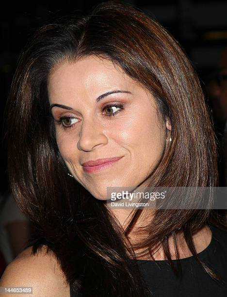 Actress Jennifer Taylor attends the opening night of Chicago at the Pantages Theatre on May 16 2012 in Hollywood California