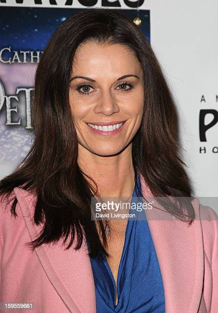 Actress Jennifer Taylor attends the opening night of Peter Pan at the Pantages Theatre on January 15 2013 in Hollywood California