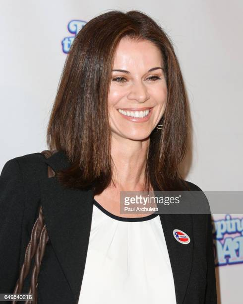 Actress Jennifer Taylor attends the premiere of Dropping The Soap at the Writers Guild Theater on March 7 2017 in Beverly Hills California