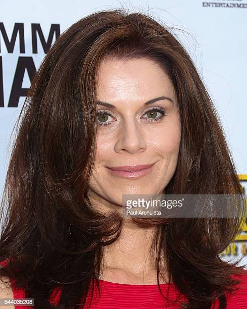Actress Jennifer Taylor attends the screening of Emma's Chance at ArcLight Hollywood on June 30 2016 in Hollywood California
