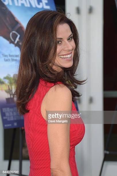 Actress Jennifer Taylor attends the screening of Sony Pictures Home Entertainment's Emma's Chance at ArcLight Hollywood on June 30 2016 in Hollywood...