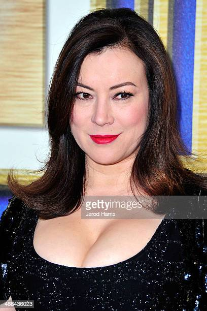 Actress Jennifer Tilly arrives at the 2014 Writers Guild Awards L.A. Ceremony at JW Marriott Los Angeles at L.A. LIVE on February 1, 2014 in Los...