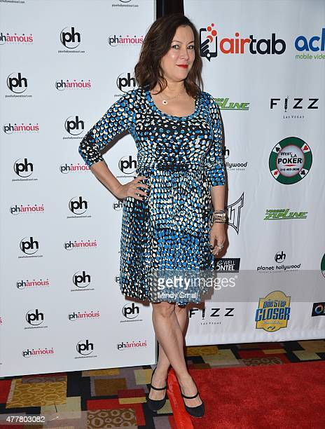 Actress Jennifer Tilly arrives at the Raising the Stakes for Cerebral Palsy Celebrity Poker Tournament at Planet Hollywood Resort Casino hosted by...