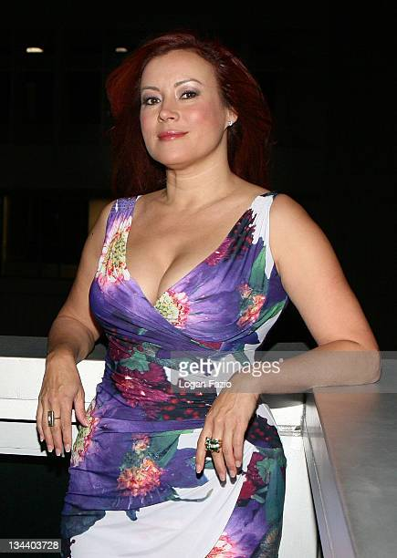 Actress Jennifer Tilly arrives at the screening of RelaxIt's Just Sex during the Miami Gay and Lesbian Film Festival at the Regal Cinema on April 27...