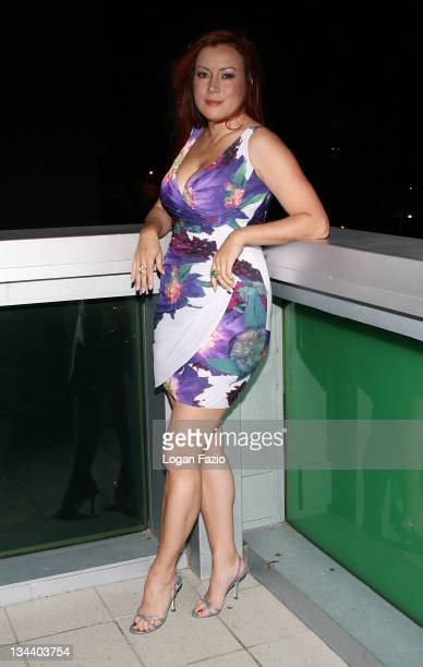 Actress Jennifer Tilly arrives at the screening of 'RelaxIt's Just Sex' during the Miami Gay and Lesbian Film Festival at the Regal Cinema on April...