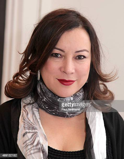 Actress Jennifer Tilly attends 'Gods Kings The Rise and Fall of Alexander McQueen and John Galliano' book launch party at Decades on April 9 2015 in...