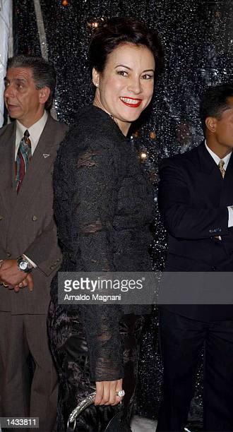 Actress Jennifer Tilly attends In Style Magazine's gala to celebrate the release of Elizabeth Taylor My Love Affair With Jewelry and major jewelry...