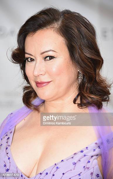 Actress Jennifer Tilly attends the American Ballet Theatre's 75th Anniversary Diamond Jubilee Spring Gala at The Metropolitan Opera House on May 18...