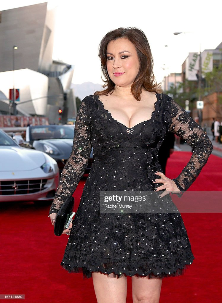 Actress Jennifer Tilly attends 'Yessss!' MOCA Gala 2013, celebrating the opening of the exhibition Urs Fischer - Ferrari at MOCA Grand Avenue on April 20, 2013 in Los Angeles, California.
