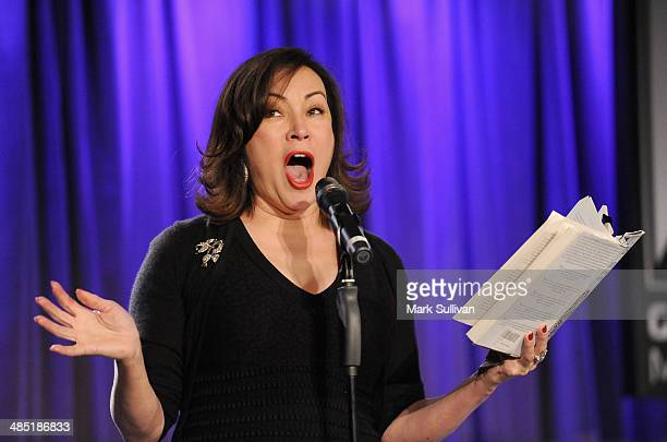 Actress Jennifer Tilly during Celebrity Autobiography The Music Edition Volume 4 at The GRAMMY Museum on April 16 2014 in Los Angeles California