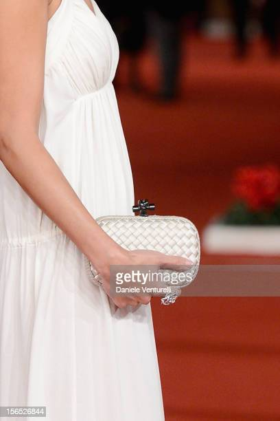 Actress Jennifer Tse attends 'The Motel Life' Premiere during the 7th Rome Film Festival at the Auditorium Parco Della Musica on November 16, 2012 in...
