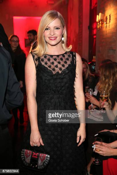 Actress Jennifer Ulrich during the New Faces Award Style 2017 at 'The Grand' hotel on November 15 2017 in Berlin Germany