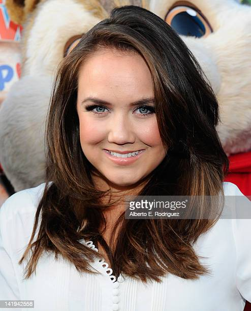 Actress Jennifer Veal attends Twentieth Century Fox Home Entertainment's Alvin and the Chipmunks Chipwrecked Bluray and DVD release party at El Rey...