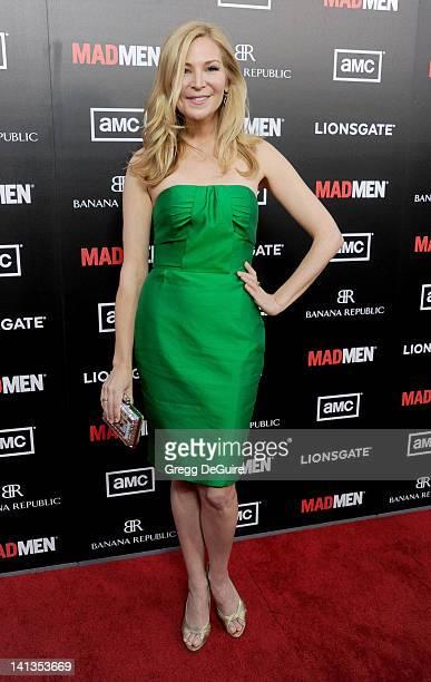 Actress Jennifer Westfeldt arrives at AMC's Mad Men Season 5 Premiere at ArcLight Cinemas Cinerama Dome on March 14 2012 in Hollywood California
