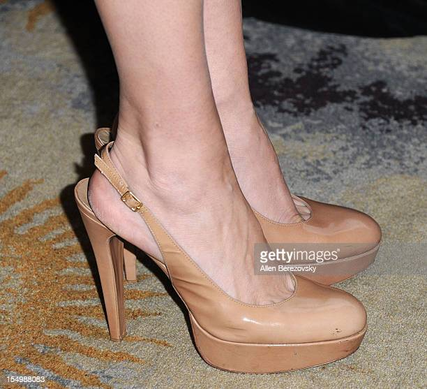 Actress Jennifer Westfeldt arrives at the 2012 Courage in Journalism Awards hosted by the International Women's Media Foundation held at the Beverly...