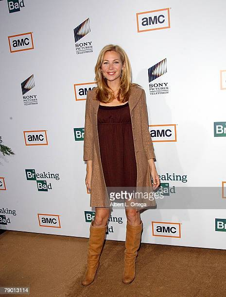 Actress Jennifer Westfeldt arrives at the Premiere Screening of AMC's new Sony Pictures' Television drama Breaking Bad held on January 15 2008 at The...