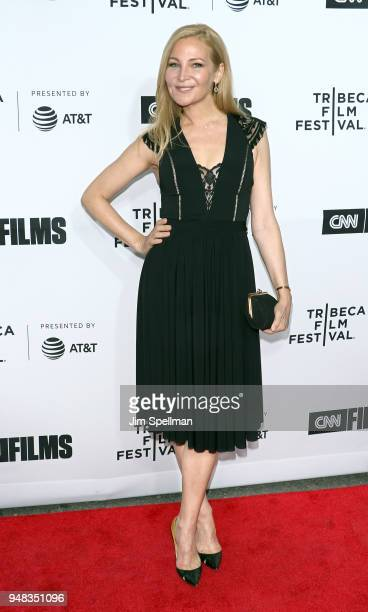 Actress Jennifer Westfeldt attends the 2018 Tribeca Film Festival opening night premiere of 'Love Gilda' at Beacon Theatre on April 18 2018 in New...