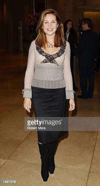 Actress Jennifer Westfeldt attends the Casting Society of America's18th Annual Artios Awards at the Beverly Hilton Hotel on October 17 2002 in...