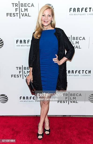 Actress Jennifer Westfeldt attends 'The First Monday In May' World Premiere during Opening Night of 2016 Tribeca Film Festival at John Zuccotti...